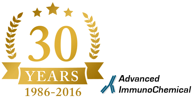 Advanced ImmunoChemical - Celebrating 30 Years of Excellence